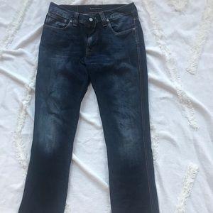 Nudie men's jeans 33w x 32 L